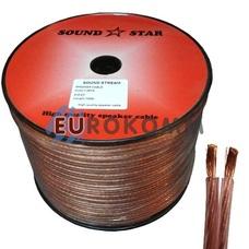 Акустический кабель 2x2.0мм² CCA Sound Star 100м