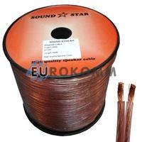 Акустический кабель 2x1.0мм² CCA Sound Star 100м