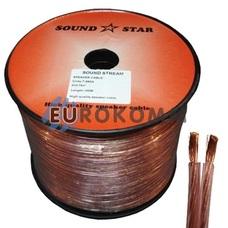 Акустический кабель 2x0.75мм² CCA Sound Star 100м