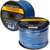 Акустический кабель 2x0.5мм² TinCU Sound Stream полупрозрачный 100м