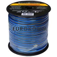 Акустический кабель 2x1.0мм² TinCU Sound Stream полупрозрачный 100м