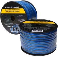 Акустический кабель 2x1.5мм² TinCU Sound Stream полупрозрачный 100м
