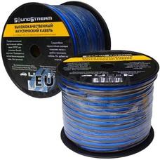Акустический кабель 2x6.0мм² TinCU Sound Stream полупрозрачный 50м