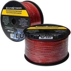 Акустический кабель 2x1.5мм² CCA Sound Stream красно-черный 100м