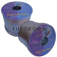 Акустический кабель 2x2.0мм² СU Sound PRO JY-6217 прозрачный 100м