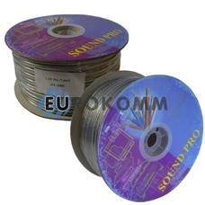 Акустический кабель 2x2.0мм² TinСU Sound PRO JY-1698 прозрачный 100м