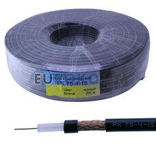 Коаксиальный кабель PK-75-4-15 черный 200м