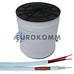 Коаксиальный кабель RG-59+2*0.5 CommSpace белый 305м