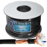 Микрофонный кабель Sound Stream 2x0.28 мм² OFC CU черный 100м