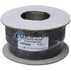 Микрофонный кабель Sound Stream 2x0.14 мм² OFC CU черный 100м