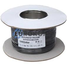 Микрофонный кабель Sound Stream 1x0.14 мм² OFC CU черный 100м