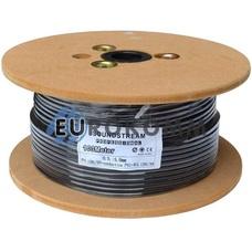 Кабель инструментальный Sound Stream 1x0.22 мм² OFC CU черный 100м