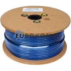 Кабель инструментальный Sound Stream 1x0.22 мм² OFC CU прозрачно-синий 100м