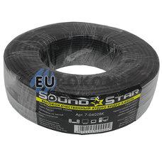 Кабель аудио-видео Sound Star 2x0.11 мм² /38 OFC CU черный 100м