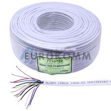 Сигнальный кабель 14х0.22 CU без экрана 100м