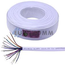 Сигнальный кабель 16х0.22 CU без экрана 100м