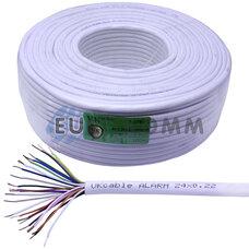 Сигнальный кабель 24х0.22 CCA без экрана 100м