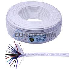 Сигнальный кабель 16х0.22 CCA в экране 100м