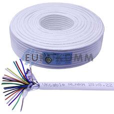 Сигнальный кабель 20х0.22 CCA в экране 100м