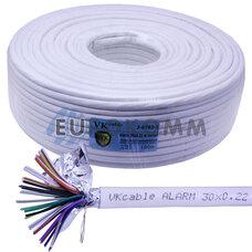 Сигнальный кабель 30х0.22 CCA в экране 100м