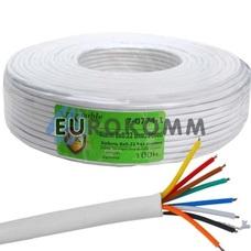 Сигнальный кабель 8х0.22 CCA без экрана 100м