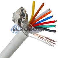 Сигнальный кабель 8х0.22 CU в экране 100м