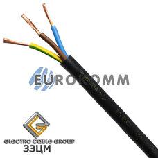 ПВС 3х2.5 мм² ЗЗЦМ черный