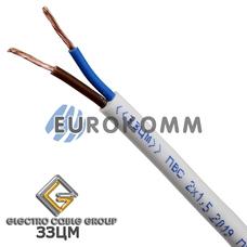 ПВС 2х1.5 мм² ЗЗЦМ белый
