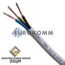 ПВС 3х1.5 мм² ЗЗЦМ белый