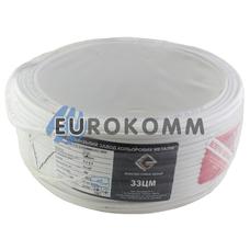 ШВВП 2х0.5 мм² ЗЗЦМ белый