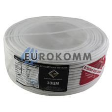ШВВП 2х1.0 мм² ЗЗЦМ белый
