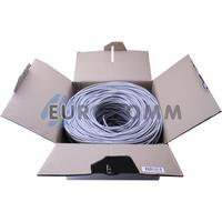 """Интернет кабель """"Витая Пара"""" UTP cat.5e 4х2x0.48 CCA KW-Link 305м"""