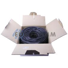 """Интернет кабель """"Витая Пара"""" UTP(PE) cat.5e 4х2x0.50 CU KW-Link наружный 305м"""