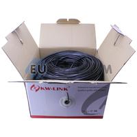 """Интернет кабель """"Витая Пара"""" FTP(PE) cat.5e 4х2x0.50 CU KW-Link наружный 305м"""