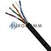 """Интернет кабель """"Витая Пара"""" UTP(PE) cat.5e 4x2x0.51 CU EUROSAT наружный"""