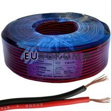 Низковольтный кабель питания Sound Star 2х0.50мм²  CU красно-чёрный 100м
