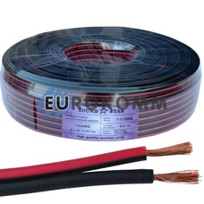 Низковольтный кабель питания Sound Star 2x1.3мм²  CCA красно-черный 100м