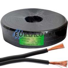 Низковольтный кабель питания Sound Star 2x2.5мм²  CCA черный 100м