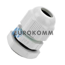 Кабельный ввод (сальник) PG-09 (4-8мм) белый