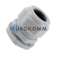 Кабельный ввод (сальник) PG-29 (18-25мм) белый