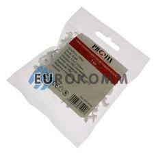 Скобы для кабеля плоские PROFIX 5/3.5 мм белые (100шт.)