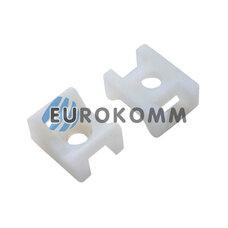 Площадка для стяжки под дюбель PROFIX 9.5х22х16мм белая (50 шт.)
