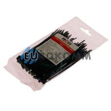 Стяжка нейлоновая PROFIX, 120х3мм, черная (100 шт.)