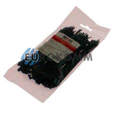 Стяжка нейлоновая PROFIX, 150х3мм, черная (100 шт.)