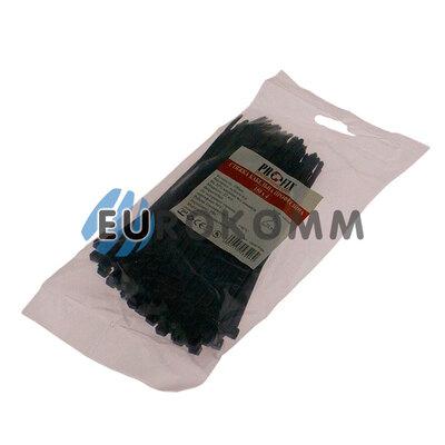 Стяжка нейлоновая PROFIX, 150х4мм, черная (100 шт.)