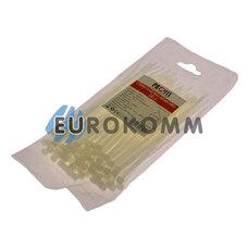 Стяжка нейлоновая PROFIX, 150х4мм, белая (100 шт.)