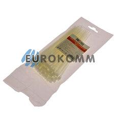 Стяжка нейлоновая PROFIX, 180х4мм, белая (100 шт.)