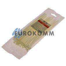 Стяжка нейлоновая PROFIX 200х3мм белая (100 шт.)