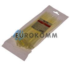 Стяжка нейлоновая PROFIX, 200х4мм, белая (100 шт.)