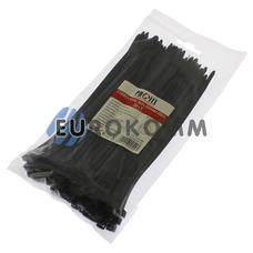 Стяжка нейлоновая PROFIX 200х5мм черная (100 шт.)